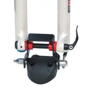 Adaptador portabicis para bicis con eje de 12, 15 y 20mm