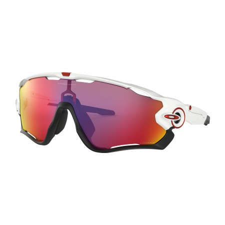 GAFAS OAKLEY JAWBREAKER POLISHED WHITE PRIZM ROAD