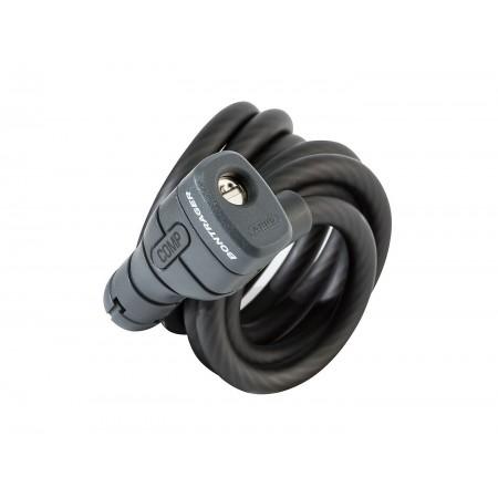 Candado Bontrager Comp Keyed Cable 10 mm x 180 cm Negro