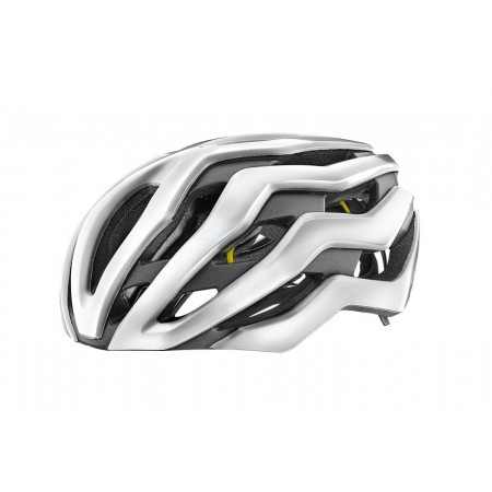CASCO GIANT REV PRO MIPS Blanco Brillo Metalico