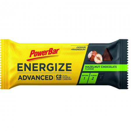 Barrita PowerBar Energize Advanced Choco Avellana