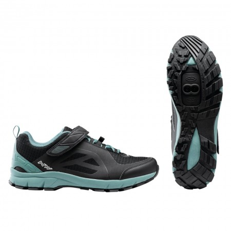 ZAPATILLAS NORTHWAVE ESCAPE EVO Negro-Verde MTB 2021