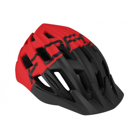 CASCO FORCE CORELLA NEGRO/ROJO