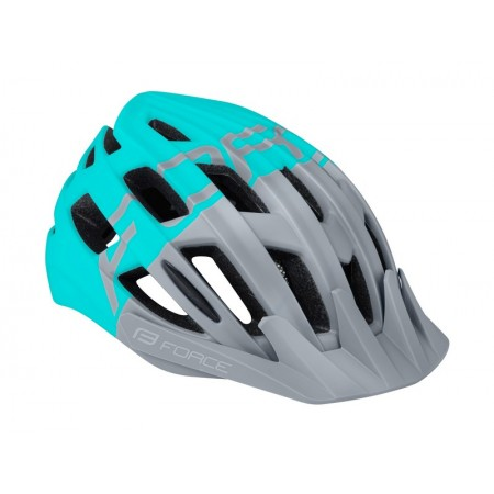 CASCO FORCE CORELLA GRIS/TURQUESA