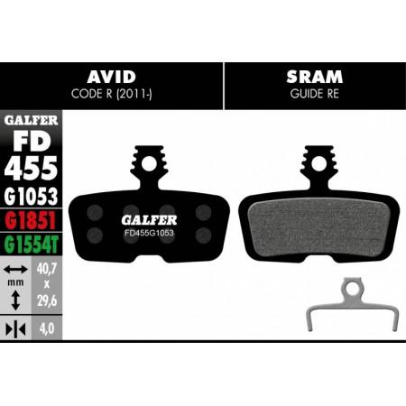 Pastillas Freno de disco Galfer standar Formula