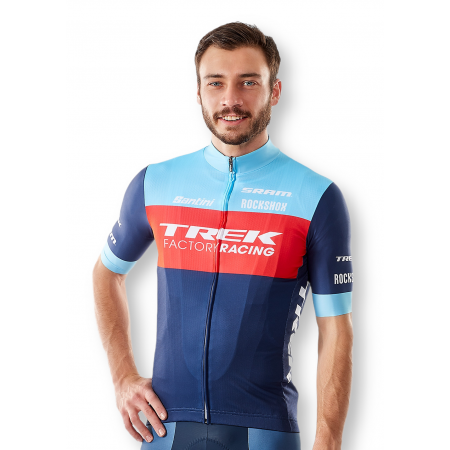 Maillot corto Santini Trek Factory Racing XC Réplica Hombre