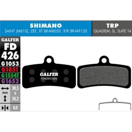 Pastillas freno Galfer Standard Shimano Saint, Zee