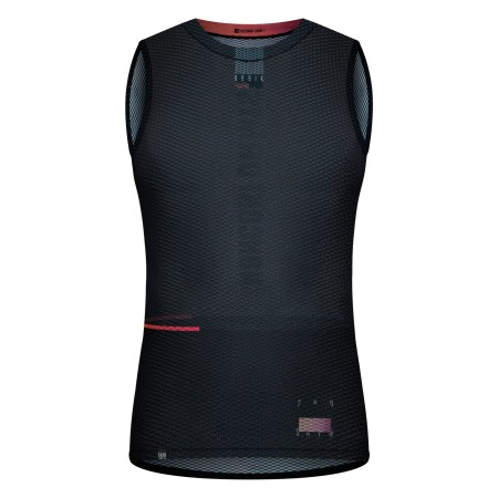 Camiseta interior Gobik Second Skin Mujer Black Lead