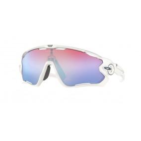 Gafas Oakley Jawbreaker Polished White Prizm Snow Sapphire