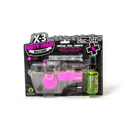 Maquina limpiador de cadena + desengrasante Muc-Off X3