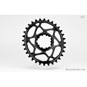 Plato AbosulteBlack SRAM Oval Boost 148 Black