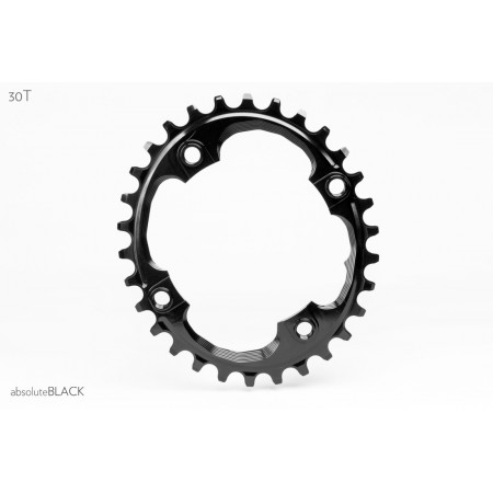 Plato Absolute Black Oval para SRAM