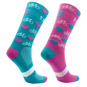 CALCETINES SOCKLA BLUE & PINK