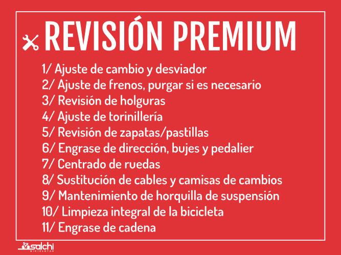 Revisión Premium Salchi