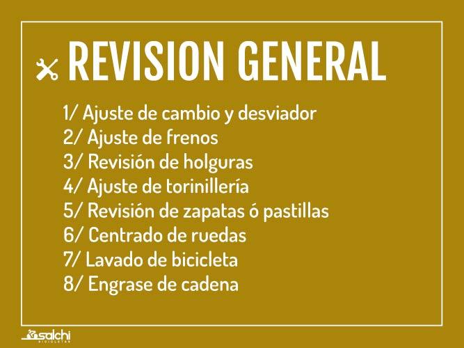 Revisión General Salchi