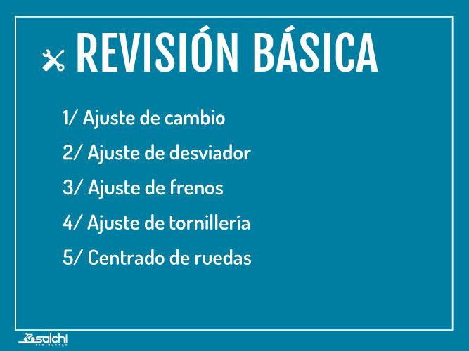 Revisión Basica Salchi