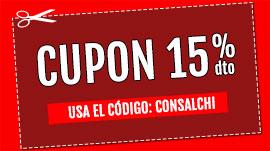 CUPON 15% CONSALCHI
