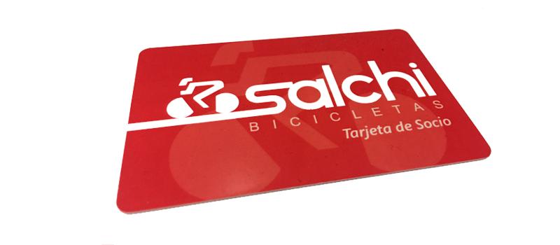 Tarjeta Socio Salchi